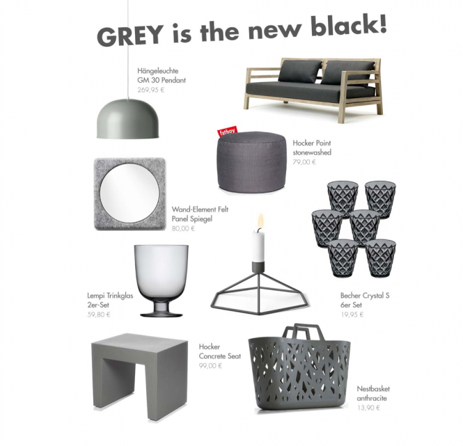 Grey is the new black