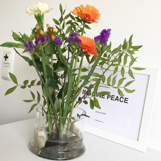 Freestyle Ikebana Flower Friday sophiagaleria