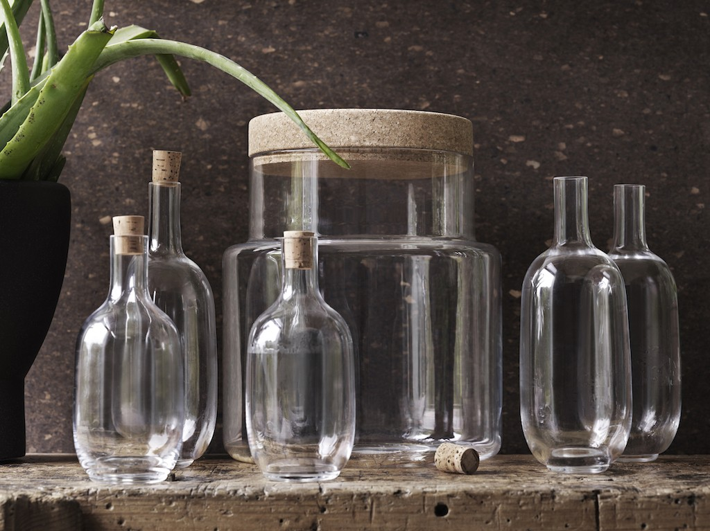 Sinnerlig Ikea Glasflaschen sophiagaleria