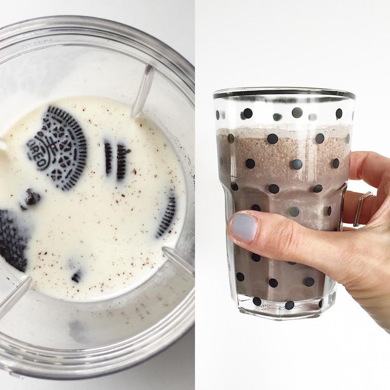 NutriBullet Smoothie Maker oreo milk sophiagaleria