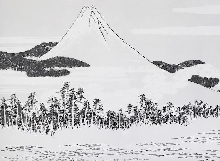 Fujiyama Wanddeko sophiagaleria