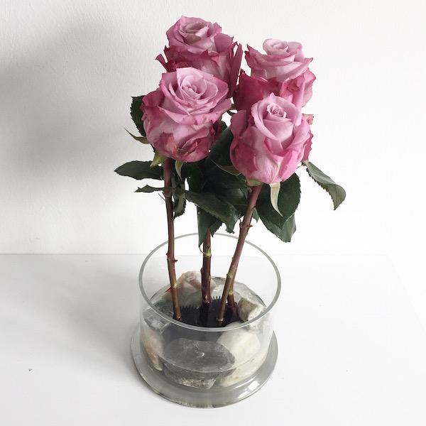 Freestyle Ikebana Flower Power Rosen sophiagaleria