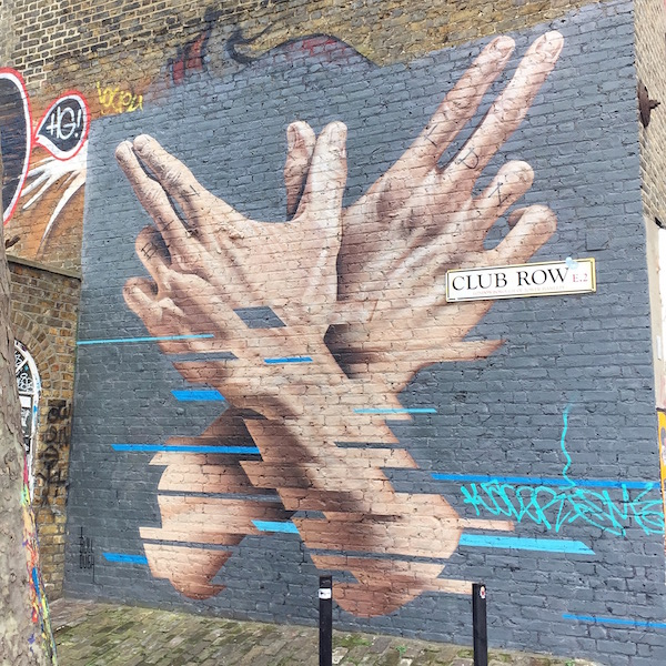 Shoreditch Streetart London sophiagaleria