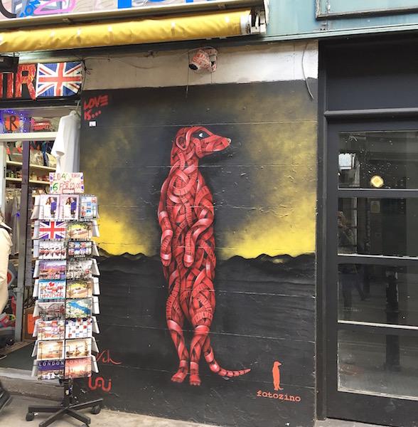 Shoreditch Streetart London sophiagaleria