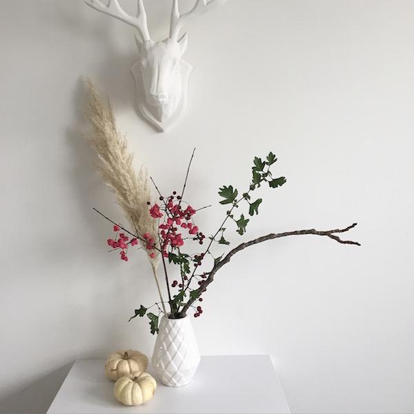 Freestyle Ikebana Flower Power Herbst sophiagaleria