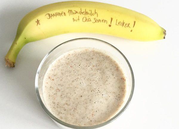 Bananen Mandelmilch sophiagaleria