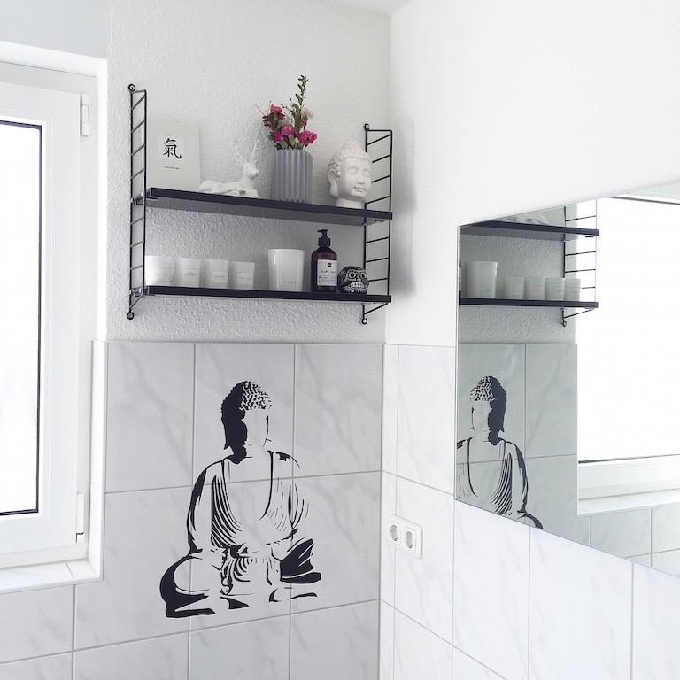 Badezimmer Wand Deko Buddha Sophiagaleria