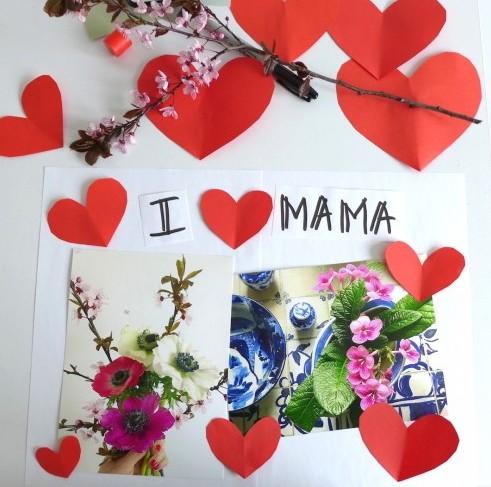 Muttertagsplatzsets DIY sophiagaleria1