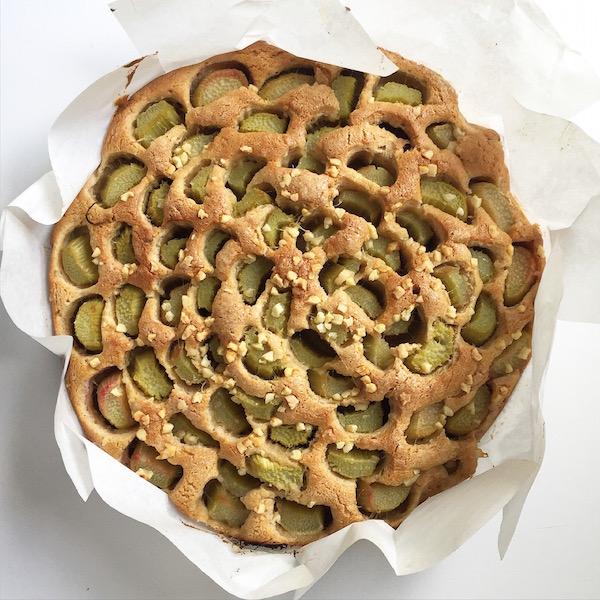 Rhabarber Kuchen Homemade sophiagaleria
