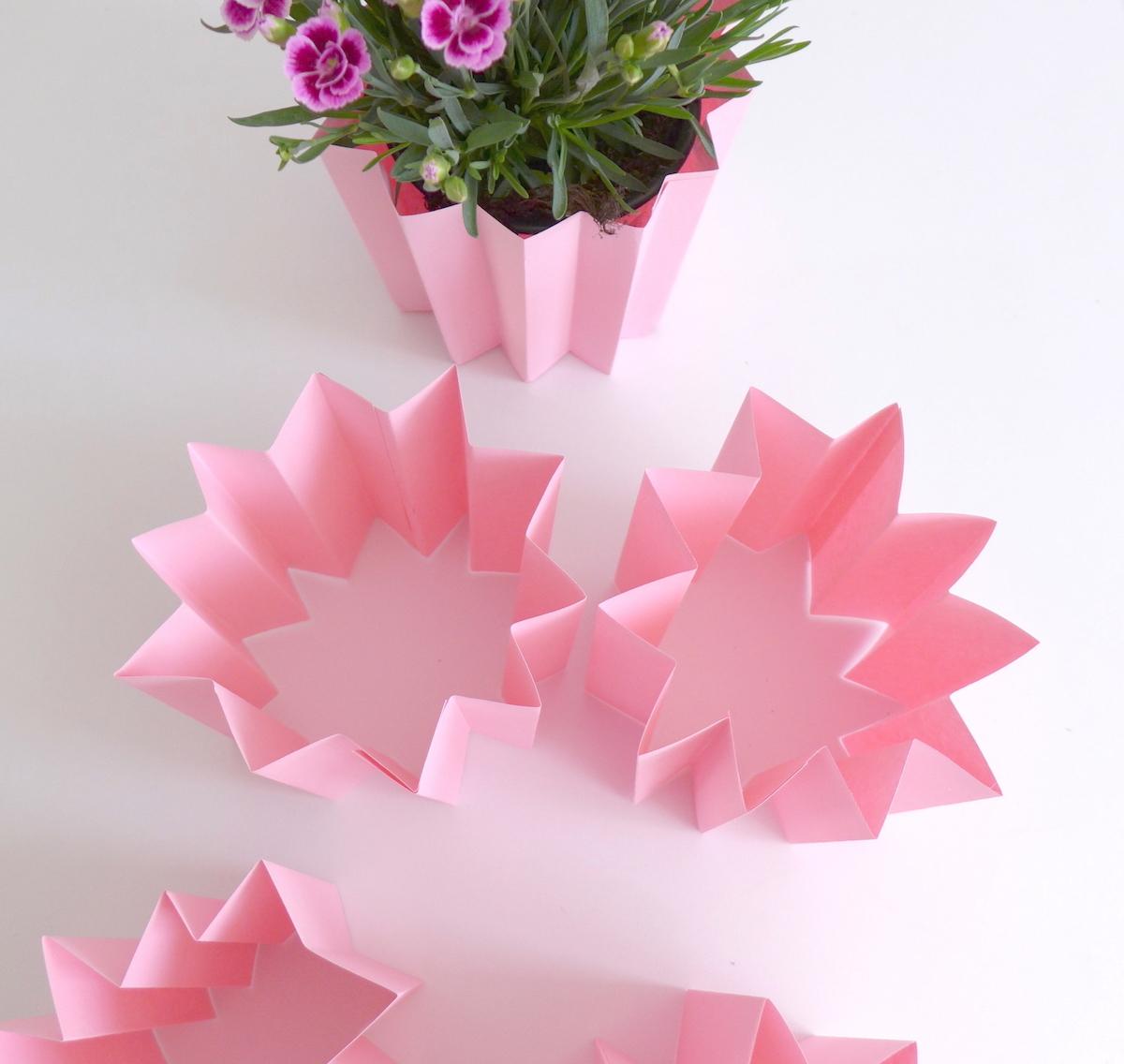 DIY Blumenmantel pink sophiagaleria
