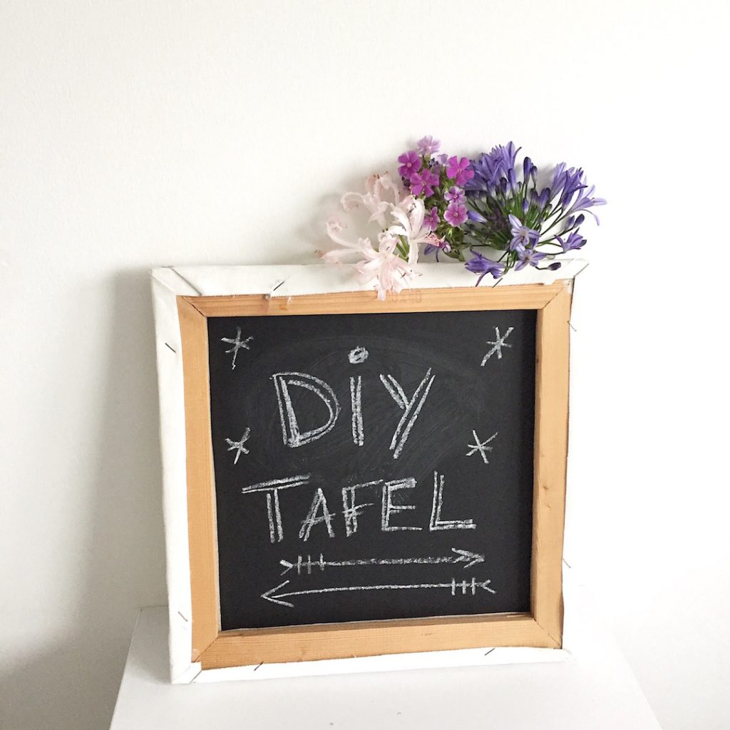 Do it yourself - Deko | Easy Peasy DIY Tafel Leinwand - sophiagaleria