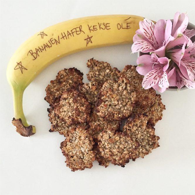 Bananen Hafer Nuss Kekse sophiagaleria