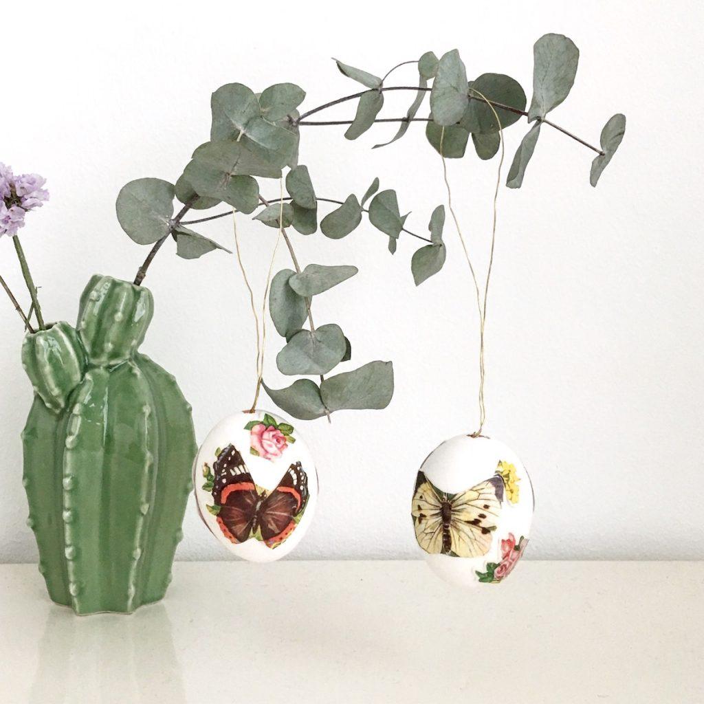 osterdeko diy glanzbilder ostereier sophiagaleria. Black Bedroom Furniture Sets. Home Design Ideas