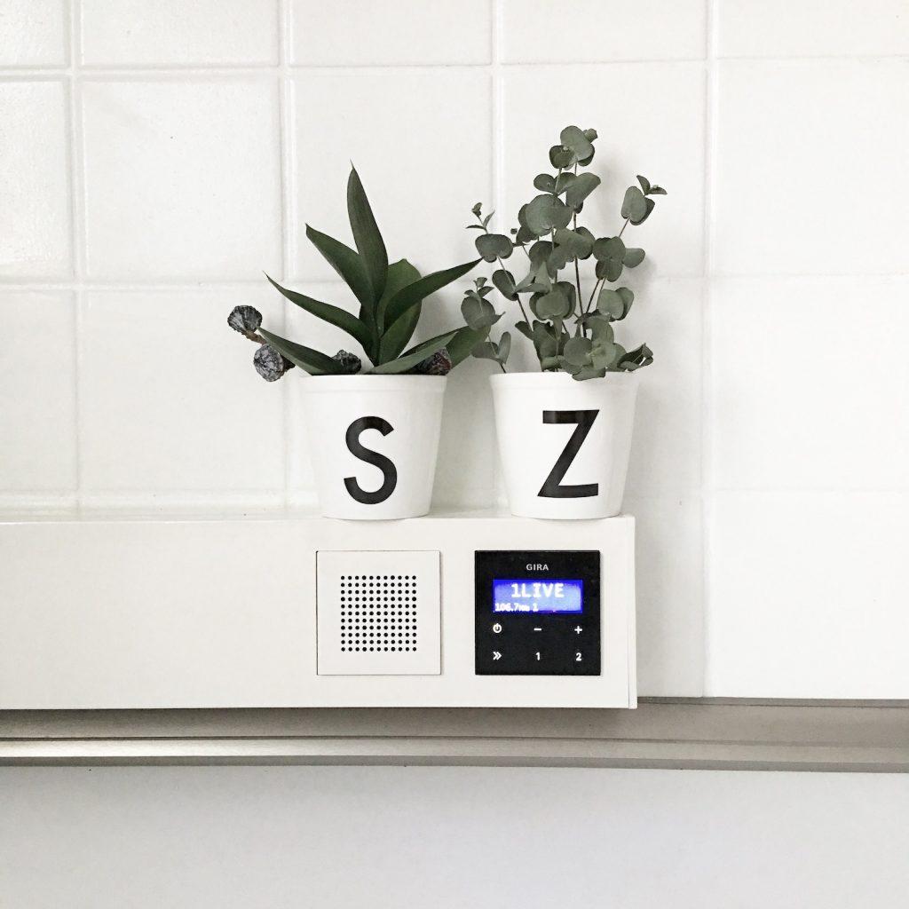 Gira Radio Weiß moderne radio vibes in meiner küche inkl verlosung sophiagaleria