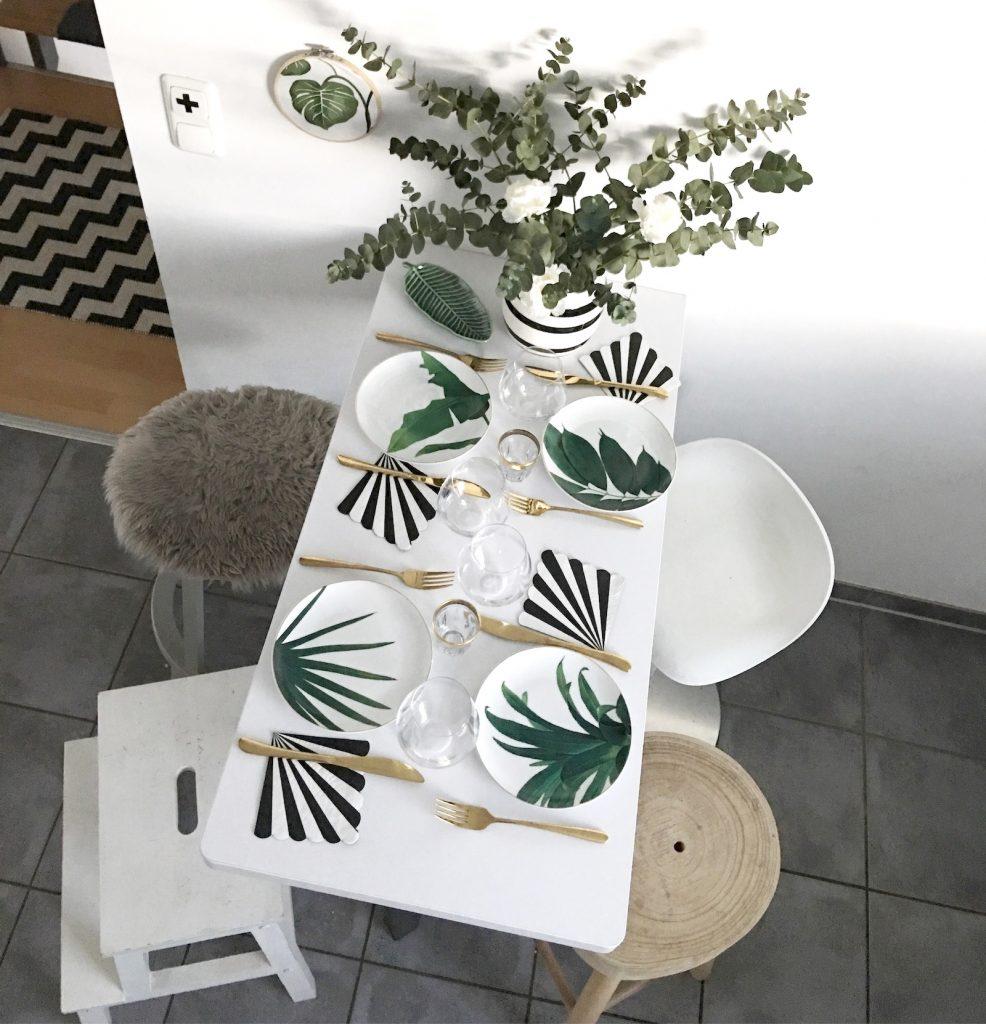 Urban Jungle Botanische Tisch Deko Sophiagaleria