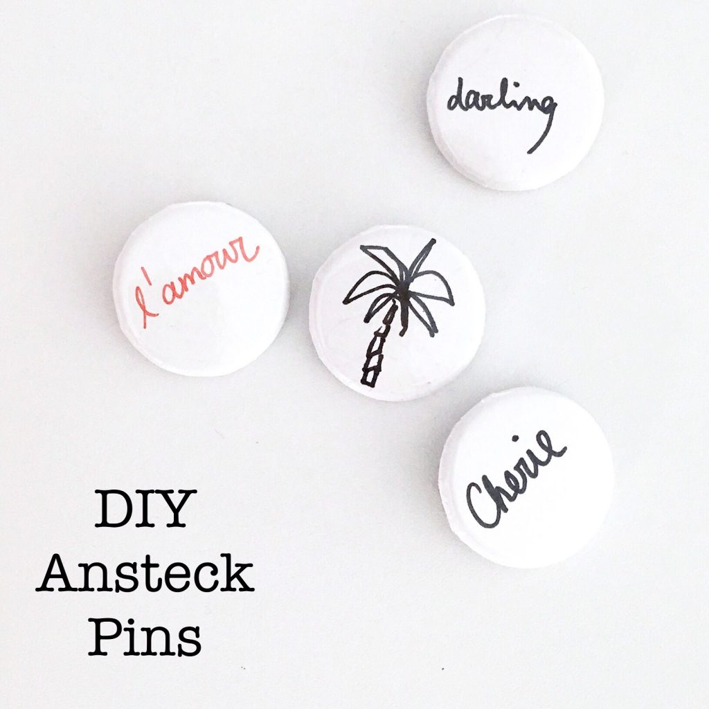 Do it yourself Ansteck Badges Ansteck Pins sophiagaleria