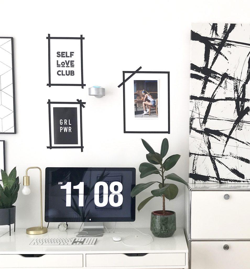 diy klebeband bilderrahmen sophiagaleria. Black Bedroom Furniture Sets. Home Design Ideas
