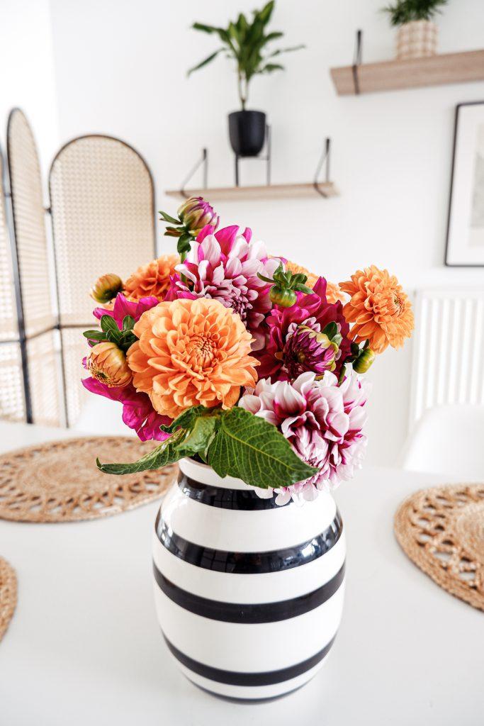 Dahlien Vase
