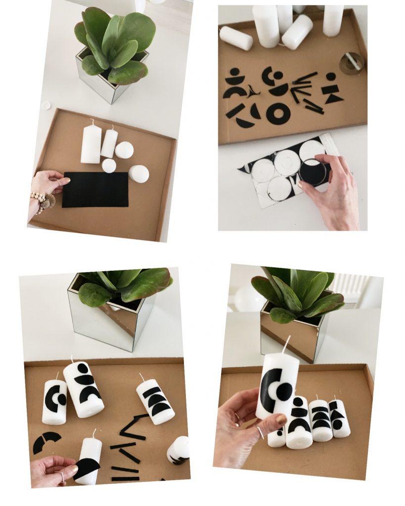 DIY Kerzen Shape Boho Style sophiagaleria