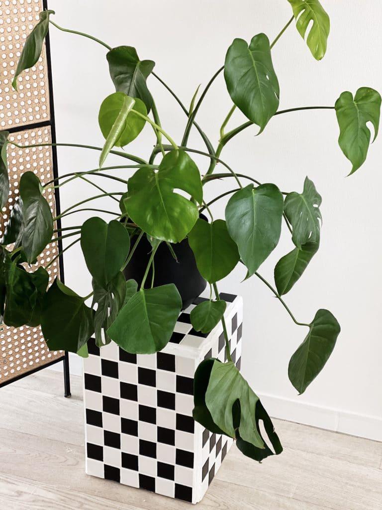 DIY Kachel Tisch Schachbrettmuster sophiagaleria