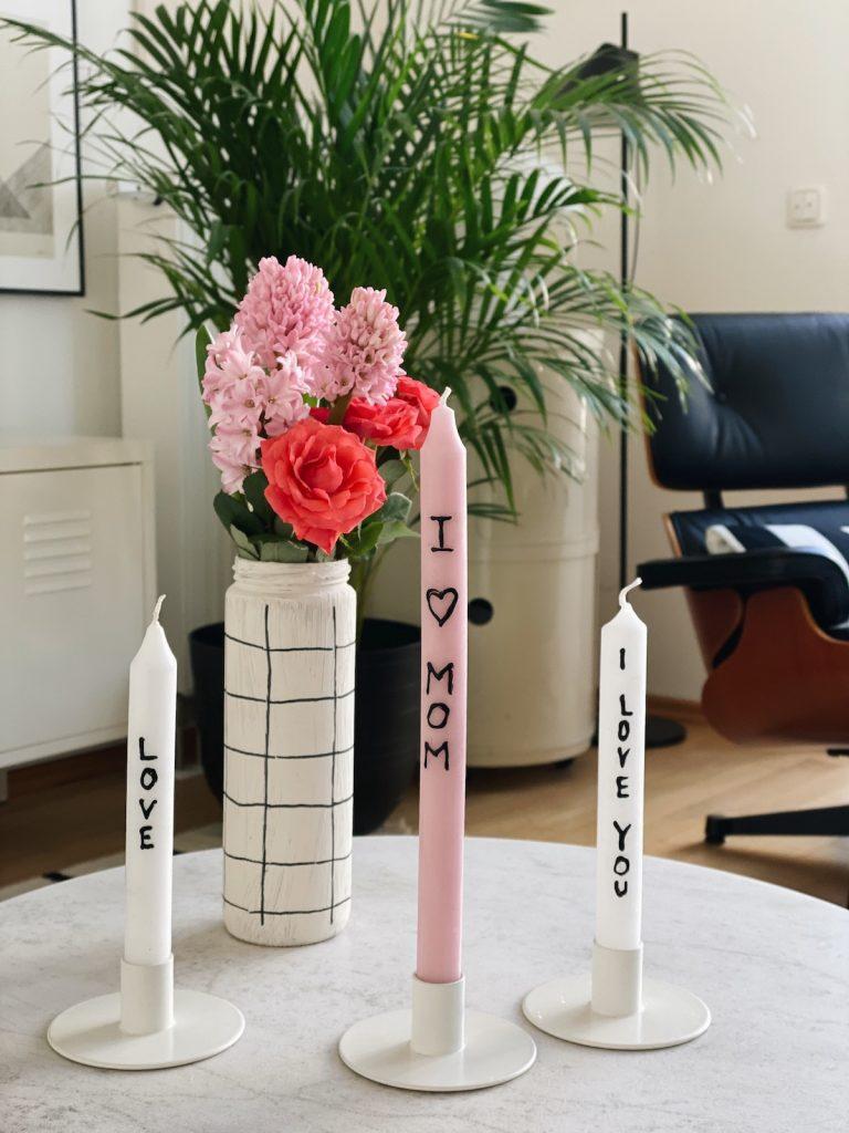 DIY Candles mothersday sophiagaleria