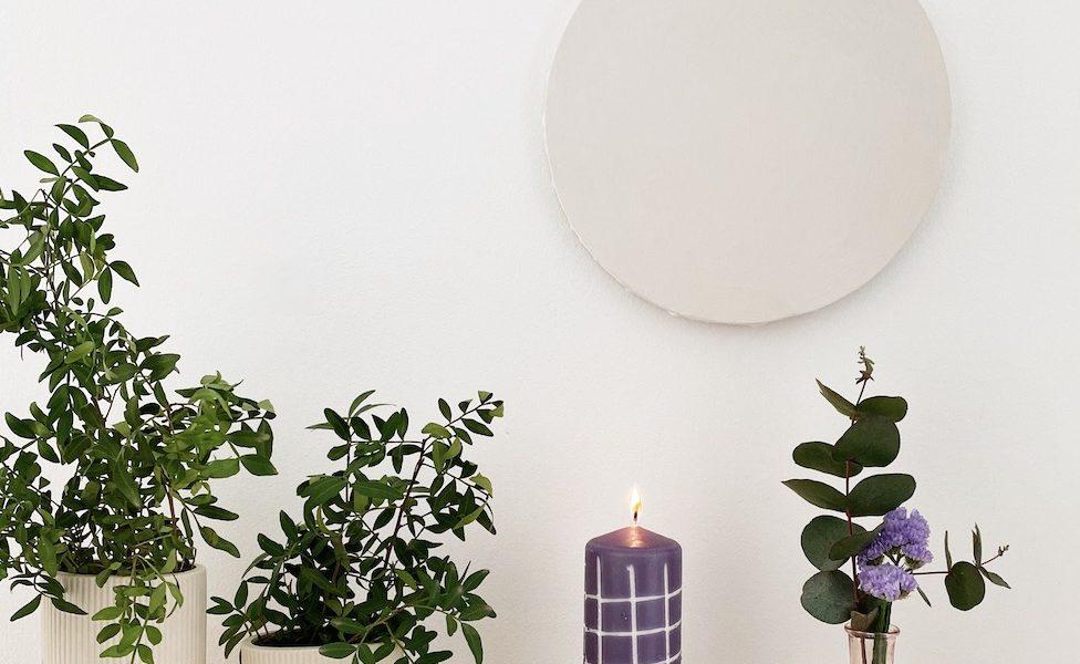 DIY geschnitzte Kerzen sophiagaleria