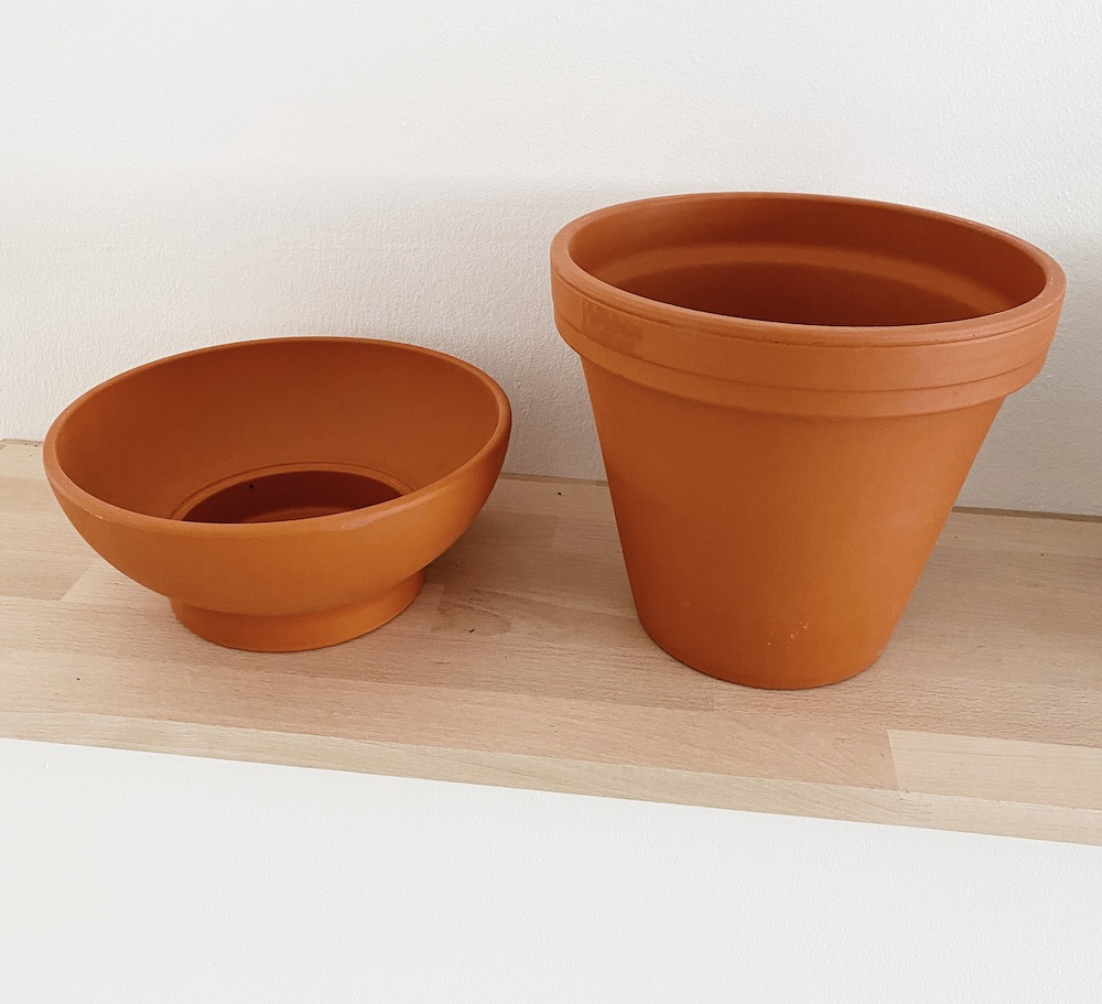 DIY Terracotta Vasen sophiagaleria