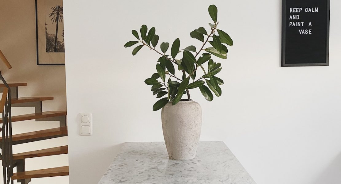 DIY Upcycling Rustikale Vase sophiagaleria
