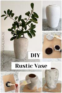 DIY Upcycling Anleitung Rustic Vase sophiagaleria