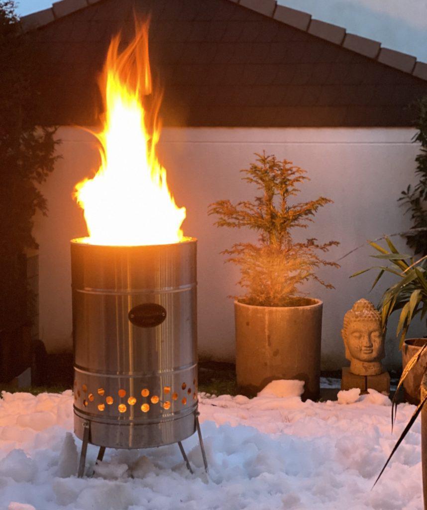 Feuertonne Feuerhand sophiagaleria