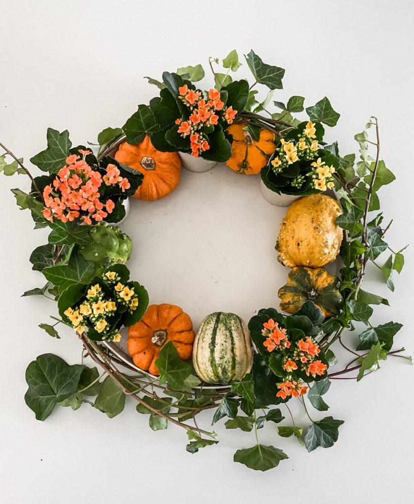 sophiagaleria kalanchoe DIY Herbstkranz