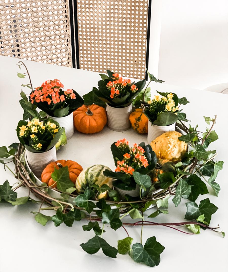 sophiagaleria kalanchoe DIY Herbstkranz Deko